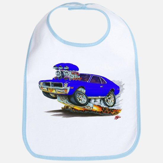 1969-70 Javelin Blue Car Bib