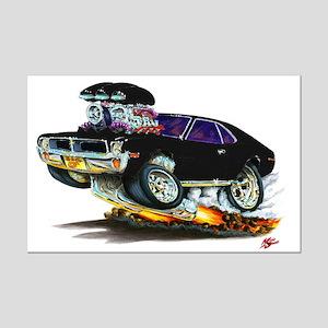 1969-70 Javelin Black Car Mini Poster Print