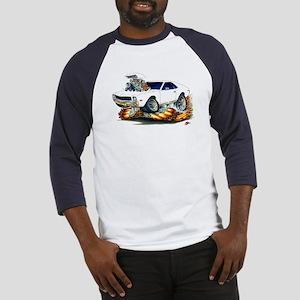 AMX White Car Baseball Jersey