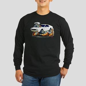AMX White Car Long Sleeve Dark T-Shirt