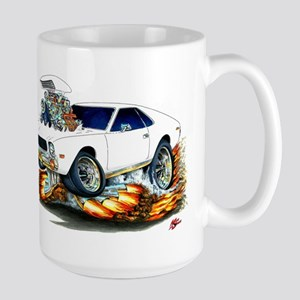 AMX White Car Large Mug
