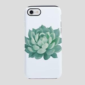 Succulent Beautiful Green Cactus iPhone 7 Tough Ca