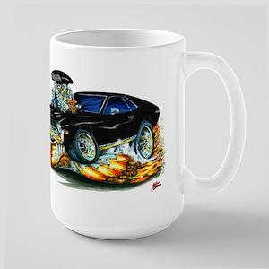 AMX Black Car Large Mug