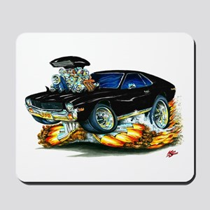 AMX Black Car Mousepad