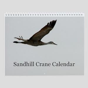 Sandhill Crane Wall Calendar