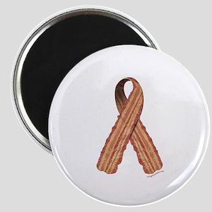 Bacon awareness ribbon Magnet