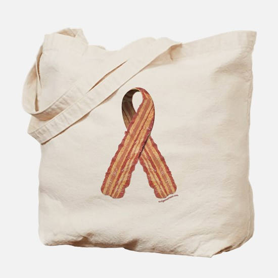 Bacon awareness ribbon Tote Bag