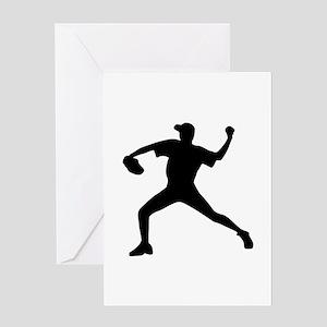 Baseball - Pitcher Greeting Card