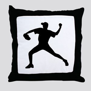 Baseball - Pitcher Throw Pillow