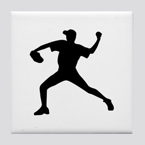 Baseball - Pitcher Tile Coaster