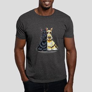 Black Wheaten Scottie Dark T-Shirt