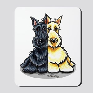 Black Wheaten Scottie Mousepad