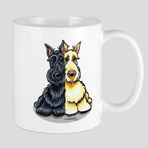 Black Wheaten Scottie Mug