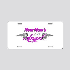 Mom-Mom's Lil' Angel Aluminum License Plate