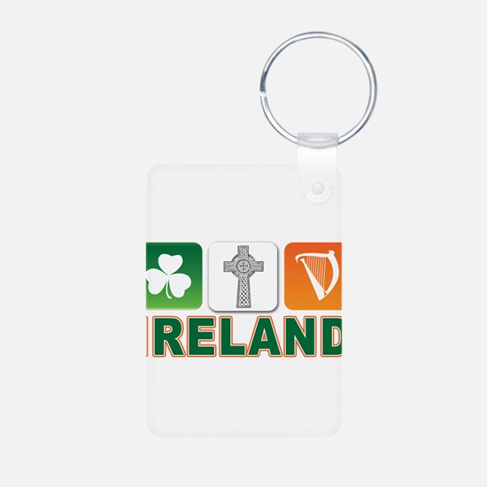 Irish pride Aluminum Photo Keychain