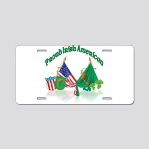 Irish American Aluminum License Plate