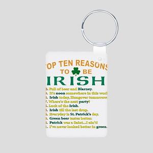 Top reasons to be Irish Aluminum Photo Keychain