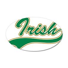Irish pride 22x14 Oval Wall Peel