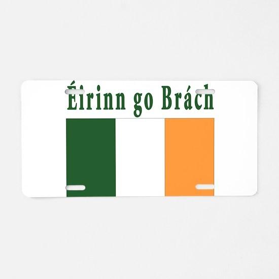Ireland forever Aluminum License Plate