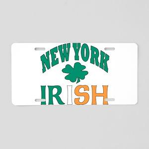 New York irish Aluminum License Plate