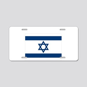 Support Isreal Aluminum License Plate