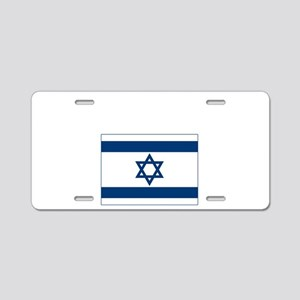 I love Isreal Aluminum License Plate