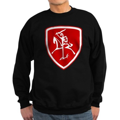 Red Vytis Sweatshirt (dark)