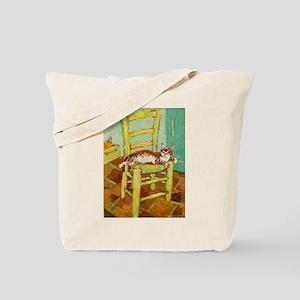 Yellow Chair Tote Bag