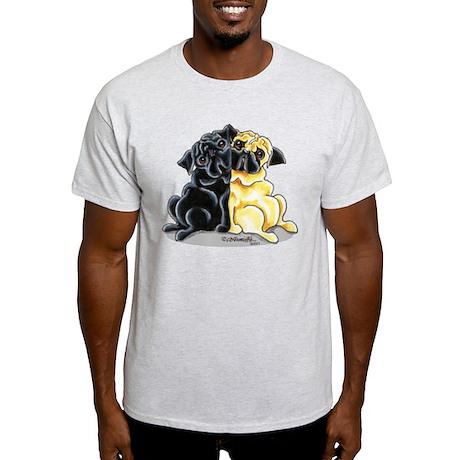 Black Fawn Pug Light T-Shirt