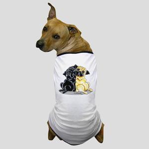 Black Fawn Pug Dog T-Shirt