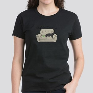 Black Lab - Play Hard Women's Dark T-Shirt