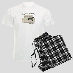Black Lab - Play Hard Men's Light Pajamas