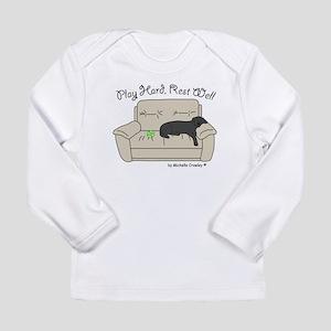 Black Lab - Play Hard Long Sleeve Infant T-Shirt