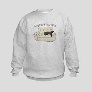 Black Lab - Play Hard Kids Sweatshirt