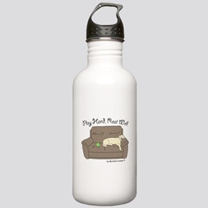 Yellow Lab - Play Hard Stainless Water Bottle 1.0L
