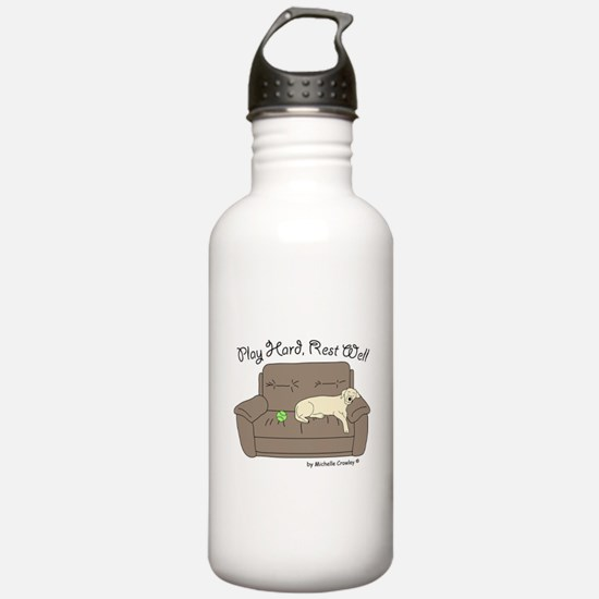 Yellow Lab - Play Hard Water Bottle