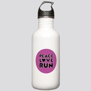 Peace Love Run Stainless Water Bottle 1.0L