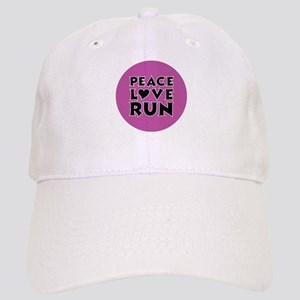 Peace Love Run Cap