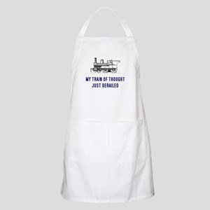 My train of thought just dera Apron