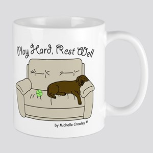 Chocolate Lab - Play Hard Mug