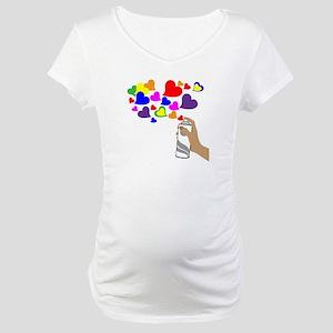 Love Spray Maternity T-Shirt