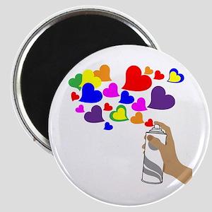 Love Spray Magnet