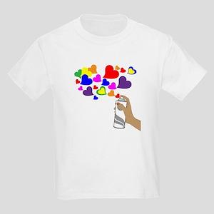 Love Spray Kids Light T-Shirt