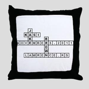 CAWTHON SCRABBLE-STYLE Throw Pillow