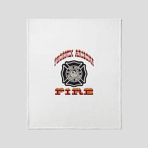 Phoenix Fire Department Throw Blanket