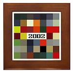 BMW 2002 Car Color Framed Tile