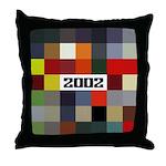 BMW 2002 Car Color Throw Pillow