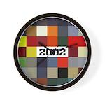 BMW 2002 Car Color Wall Clock
