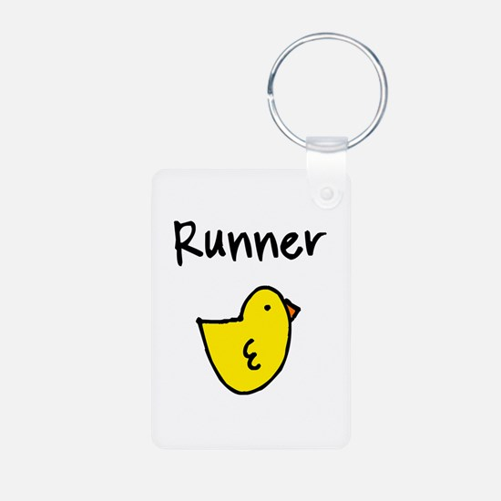 Runner Chick Keychains