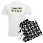 Give Peas A Chance Men's Light Pajamas